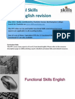Functional English Revision and Exam Notes