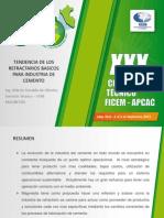 PLANTILLA-TENDENCIA-DE-LOS-REFRACTARIOS-BASICOS-PARA-INDUSTRIA-DE-CEMENTO-CONGRESO-TECNICO-FICEM-2013-1.ppt