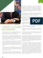 """""""A Saúde e o Sucesso das Empresas"""", Revista Link Setembro 2012"""