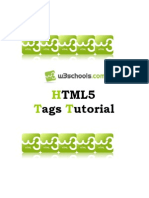 HTML5 Tags