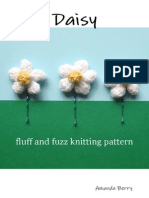Daisy - Fluff and Fuzz Knitting Pattern
