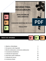 FOCUS analisis no a la baja.pdf