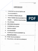 CONCEPT AND FUNCTIONS OF MANAGEMENT