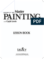 Painting Lesson Book