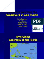 credit card asia pacific
