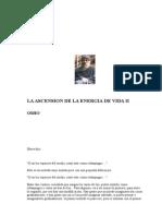 OSHO - La Ascension De La Energia De Vida 2.doc