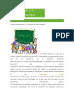 la importancia de la educacion preescolar.docx