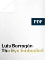 Luis Barragan The Eye Embodied