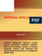 Artificial Intelligence(AI)