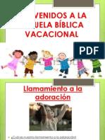 Llamamiento a La Adoración