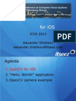 ICVS2013 - Opencv for IOS