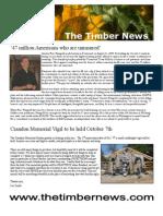 The Timber News -- Oct 2009