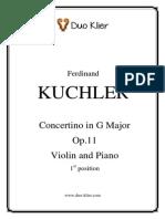 Kuchler Concertino Op.11