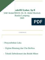 UTS. Luka - Dr. Syahar