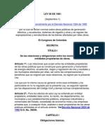 Ley 56 de 1981 obras públicas  eléctrica  y acueductos.docx