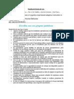 Effectiveness of Cognitive Plantilla Del Estado Del Arte - Posgrado