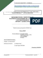 Rapport Diop Moussa / Ptojet