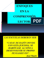 ENFOQUES EN LA COMPRENSION llectora.ppt
