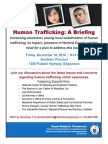 Human Trafficking November 2014 Invite