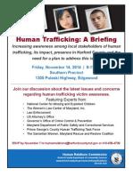Human Trafficking November 2014 Invite