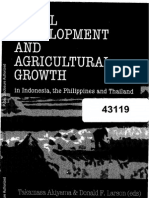 Akiyama and Larson 2004 Rural Development and Agricultural Growth in Indonesia, The Philippines and Thailand