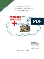 Informe Primeros Auxlios.doc