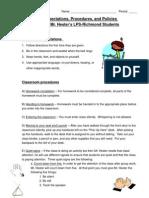 Classroom Procedures Plan.doc