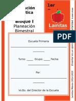 1er Grado - Bloque 1 - Educación Artística.doc