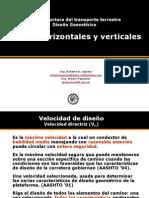 TRAZADO DE CARRERERAS-PERALTE, SOBREANCHO.ppt