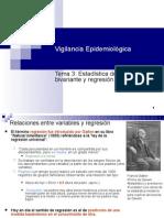 Estadística descriptiva bivariante y regresión lineal