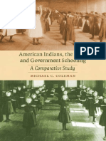 Coleman American Indians, The Irish, Govenment Schooling