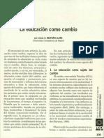 Jesús Beltrán - La educación como cambio (1).pdf