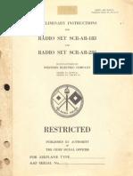 SCR AR 183 283 Manual