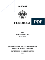 Handout Fionologi Editan