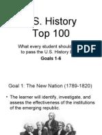 U.S. Top 100 Goals 1-6