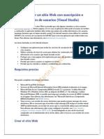Clase 03 Crear un sitio Web con suscripción e inicio de sesión de usuarios (Visual Studio).docx
