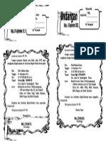 Undangan Setengah Folio (Folkers17.Blogspot.com)