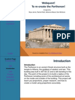 webquest - parthenon