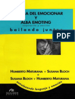 Maturana Humberto - Biologia Del Emocionar Y Alba Emoting.pdf
