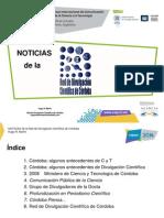 HUGO MARTIN ATOMICA CORDOBA NOTICIAS RED DIVULGACION CIENTIFICA CORDOBA COPUCI 2014