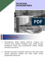 Presentasi Ekonometrika