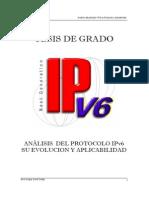 Análisis Del Protocolo Ipv6
