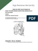 DERECHOS Y DEBERES DEL NIÑO TALLER TRABAJO EN CLASE Y EN CASA GRADOS CUARTO.docx