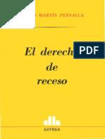 EL DERECHO DE RECESO - CARLOS MARTIN PENNACCA.pdf