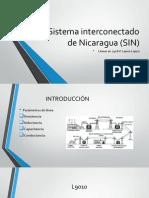 Sistema interconectado de Nicaragua (SIN).pptx