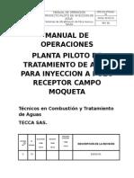 Manual de Operacion Planta Piloto MQT.doc