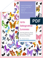 arts integrated lesson plans