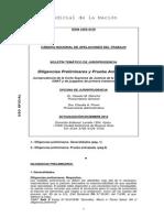 Diligencias Preliminares - Derecho Procesal