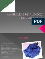 MINERALES CRISTALIZADOS DE COLOR AZUL 1.pptx