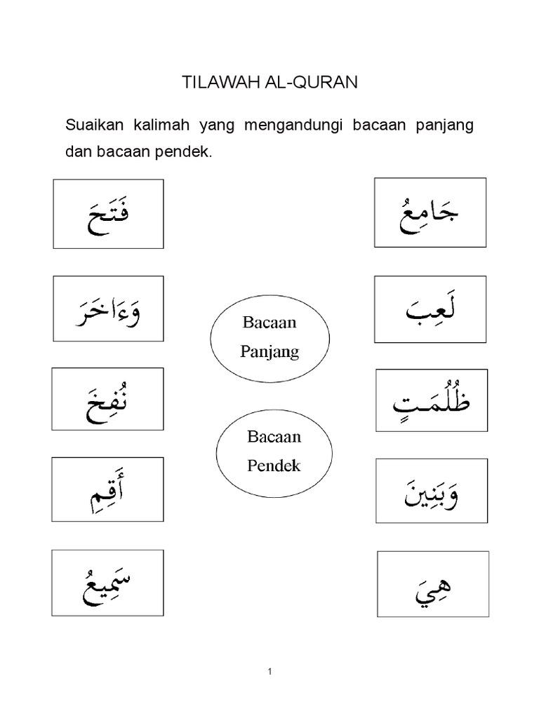 Lembaran Kerja Pendidikan Islam Pendidikan Khas